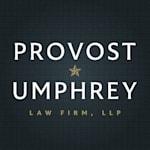 Image del logo del despacho de Provost Umphrey Law Firm, LLP