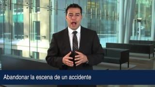 Video Abandonar la escena de un accidente