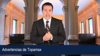 Advertencias de Topamax