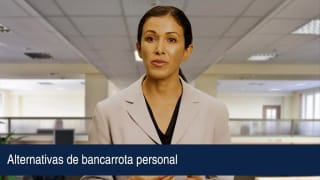 Video Alternativas de bancarrota personal