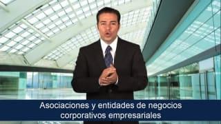 Asociaciones y entidades de negocios corporativos empresariales
