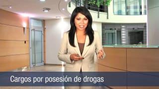 Cargos por posesión de drogas