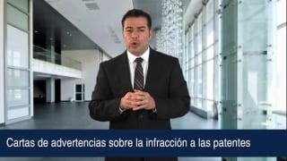 Video Cartas de advertencias sobre la infracción a las patentes