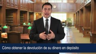 Video Cómo obtener la devolución de su dinero en depósito