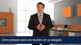 Video Cómo preparar para una reunión con su abogado