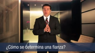 Video ¿Cómo se determina una fianza?