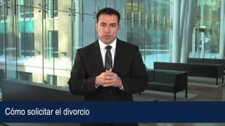 Cómo solicitar el divorcio