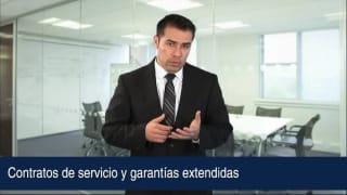Contratos de servicio y garantías extendidas