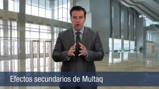 Video Efectos secundarios de Multaq