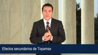 Efectos secundarios de Topamax