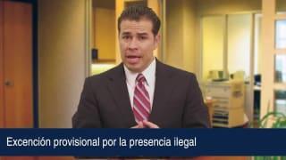 Excención provisional por la presencia ilegal