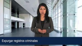 Expurgar registros criminales