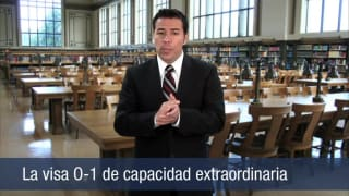 Video La visa O-1 de capacidad extraordinaria