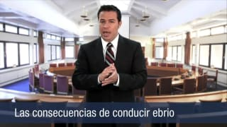 Video Las consecuencias de conducer ebrio