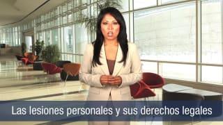 Video Las lesions personales y sus derechos legales