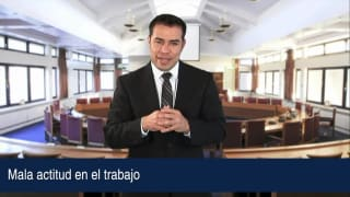 Video Mala actitud en el trabajo