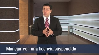 Video Manejar con una licencia suspendida