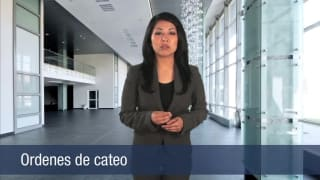 Video Ordenes de cateo