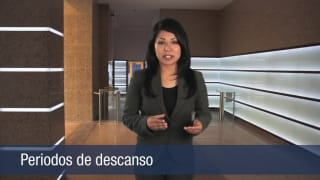 Video Periodos de descanso