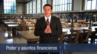 Video Poder y asuntos financieros
