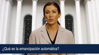 ¿Qué es la emancipación automática?