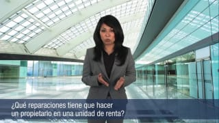 ¿Qué reparaciones tiene que hacer un propietario en unidad de renta?