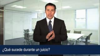 Video ¿Qué sucede durante un juicio?