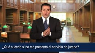 Video ¿Qué sucede si no me presento al servicio de jurado?