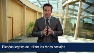Riesgos legales de utilizer las redes sociales