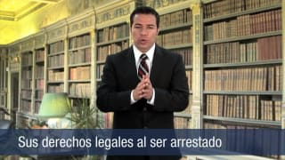 Sus derechos legales al ser arrestado