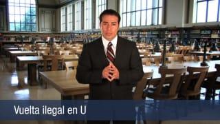 Video Vuelta ilegal en u
